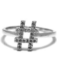 MaLi Beads   Nikki .925 Cz # Ring   Lyst