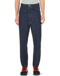 Moncler - Dropped-crotch Regular-fit Straight Jeans - Lyst