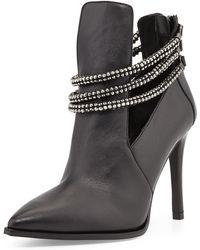 Luxury Rebel Sienna Leather Bootie - Lyst