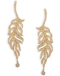Nayla Arida - Feather Earrings - Lyst