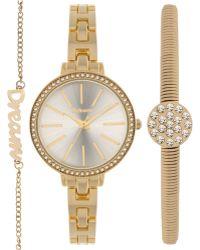 Style & Co. - Women's Gold-tone Bracelet Watch And Bracelets Set 32mm Sy044g, Only At Macy's - Lyst