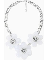 Mango Flower Necklace - Lyst