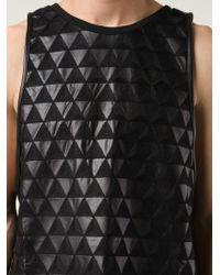 Ada + Nik - Embroidered Geometric Pattern Top - Lyst
