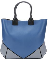 Givenchy Celestial And Black Leather Colorblock Medium 'Easy' Tote - Lyst