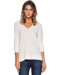 Vince Vee Layout Sweater - Lyst