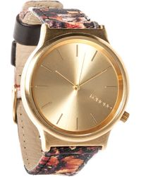 Komono The Wizard Print Watch - Lyst