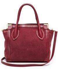 Foley + Corinna   Frame Mini Shopper Bag - Black   Lyst