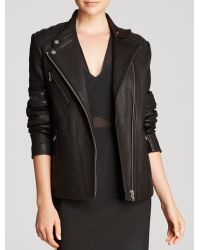 Yigal Azrouel Jacket Black Leather - Lyst