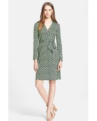 Diane von Furstenberg 'New Jeanne Two' Silk Jersey Wrap Dress - Lyst