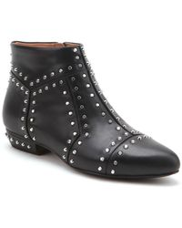 United Nude Rivet Studded Leather Booties - Lyst