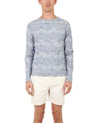 V::room Herringbone Sweater - Lyst