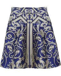 Temperley London Isadora Jacquard Mini Skirt - Lyst