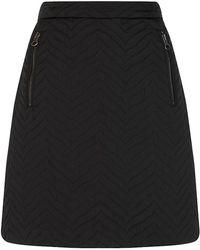 See By Chloé Herring Jacquard Mini Skirt - Lyst