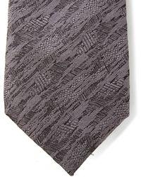Lanvin - Slate Grey Camo Jacquard Tie - Lyst
