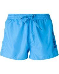 Diesel Bmbx Coralred Swim Shorts - Lyst