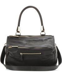 Givenchy Pandora Medium Leather Shoulder Bag - Lyst