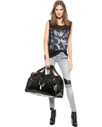 LeSportsac - Large Weekender Bag - Black Patent - Lyst