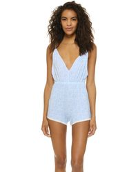 Cheek Frills - Carolyn Murphy Dandelion Sleep Romper - Lyst