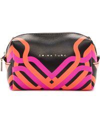 Trina Turk - Geo Canyon Cosmetic Bag - Lyst