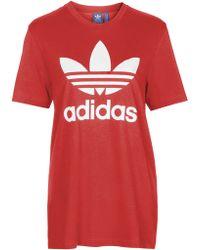 Topshop | Trefoil Tee By Adidas Originals | Lyst