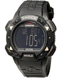Timex® Expedition® Shock Chrono Alarm Timer Watch - Lyst