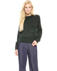 Acne Studios Dania Mohair Sweater - Lyst