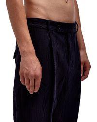 Damir Doma Mens Portage Front Pleat Pants - Lyst