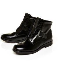 Moda In Pelle | Unbeaten Smart Casual Pull On Ankle Boots | Lyst