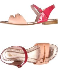 Opening Ceremony Pink Sandals - Lyst