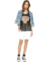Love Leather - Knicks Slam Dunk Tank - Black - Lyst