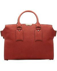 Burberry Gainsborough Leather Tote - Lyst
