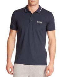 BOSS | Paule Pro Solid Polo | Lyst