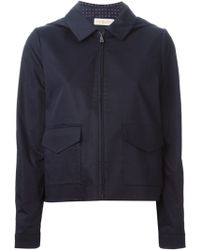 Tory Burch Blue Lane Jacket - Lyst
