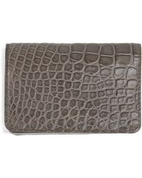 Jean Rousseau - Fold Over Card Holder - Lyst
