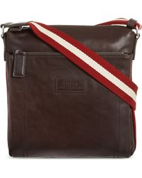 Bally Trainspotting Messenger Bag Brown - Lyst