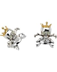 Deakin & Francis Skull  Crown Cuff Links - Lyst
