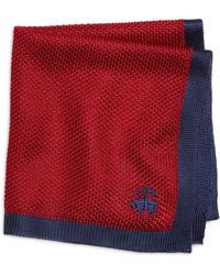 Brooks Brothers Knit Pocket Square - Lyst