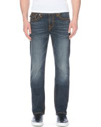 True Religion Ricky Super T Relaxed-fit Straight-cut Jeans - Lyst