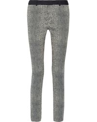 Preen Stretch-jacquard Pants - Lyst