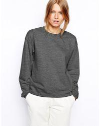 Asos Boyfriend Sweatshirt - Lyst