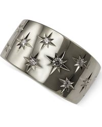 Marchesa | Diamond Star Band (1/6 Ct. T.w.) In 18k White Or Yellow Gold | Lyst