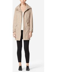 Cole Haan | Double Faced Travel Packable Rain Jacket | Lyst