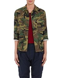 NLST - Camouflage-Print Cotton-Blend Field Jacket - Lyst