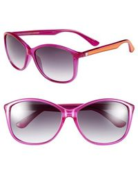 Converse - 'pedal' 60mm Sunglasses - Lyst