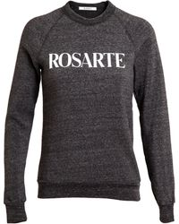 Rodarte Rosarte Cotton-blend Sweatshirt - Lyst