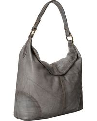 Frye Gray Campus Hobo - Lyst