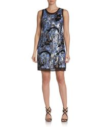 Alexia Admor Sequined Shift Dress - Lyst