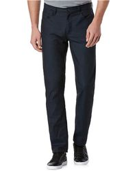 Perry Ellis - Slim Fit Cotton And Linen Jeans - Lyst