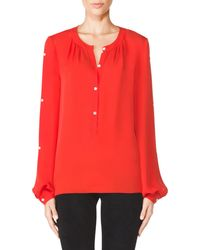 Tamara Mellon New Peasant Blouse - Lyst