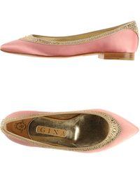 Gina Ballet Flats - Lyst